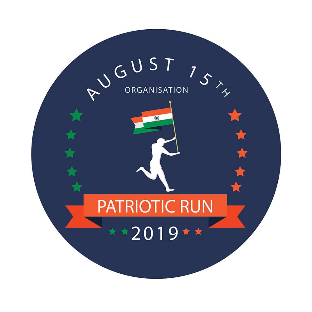 Patriotic Run Logo